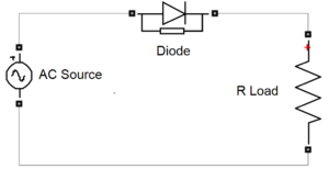 figure-1 circuit diagram single phase half wave