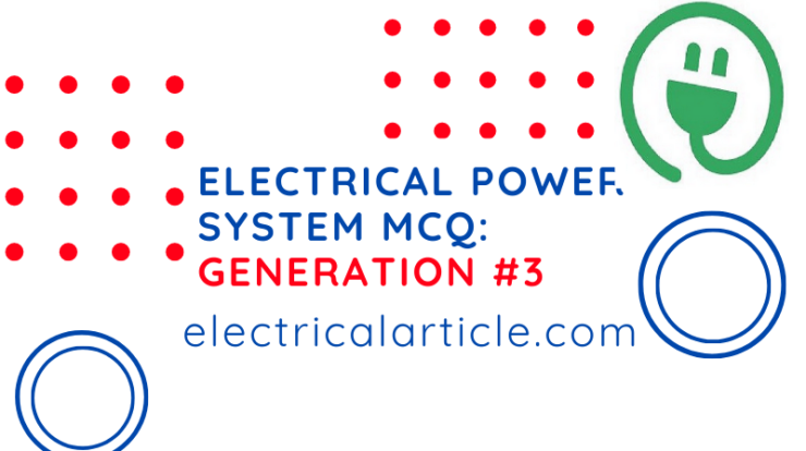 Electrical Power System MCQ