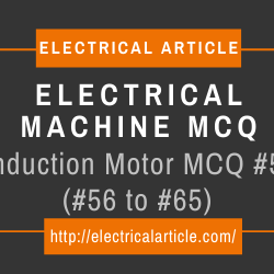 Induction Motor MCQ