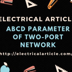 ABCD Parameter of Two-Port Network