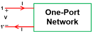 One-Port Network