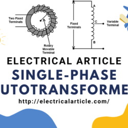 Single-phase Autotransformer